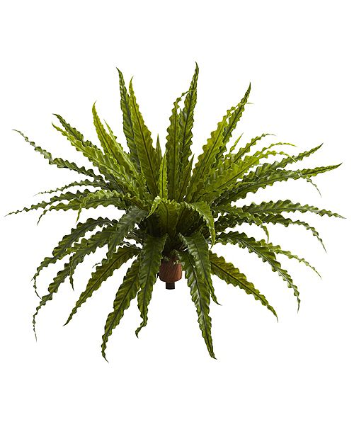 "Nearly Natural 26"" Asplenium Artificial Plant, Set of 2"