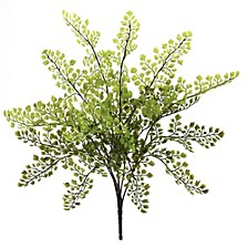 """15"""" Maiden Hair Artificial Plant, Set of 12"""