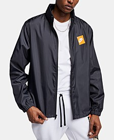 Men's Logo Hooded Jacket
