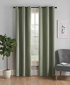 """Microfiber Thermaback Blackout 42"""" x 84"""" Curtain Panel"""