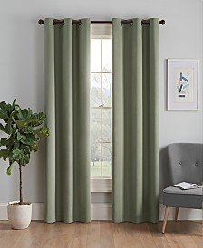 """Eclipse Microfiber Thermaback Blackout 42"""" x 84"""" Curtain Panel"""