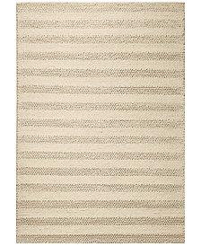 KAS Cortico White 6155 White 5' x 7' Area Rug