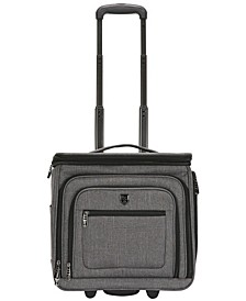 "Traveler's Club 16"" Stafford Top 2-Wheel USB Underseat Carry-On"