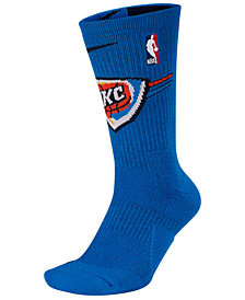 Nike Men's Oklahoma City Thunder Elite Team Crew Socks