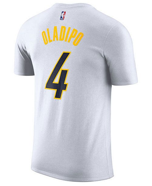 b417eef78 ... Nike Men s Victor Oladipo Indiana Pacers Earned Edition Player T-Shirt  ...