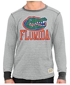 Men's Florida Gators Triblend Fleece Crew Sweatshirt