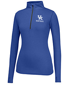 Top of the World Women's Kentucky Wildcats Poly Quarter-Zip Pullover