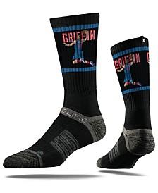 Strideline Detroit Pistons Blake Griffin Action Crew Socks