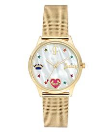 Woman's 1024MPGB Mesh Bracelet Watch