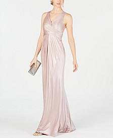 Metallic Mermaid Gown