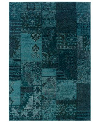 "CLOSEOUT! Area Rug, Revamp REV7501 7'10"" x 10'10"""