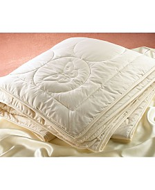 Silk Filled Quilted Comforter, Twin