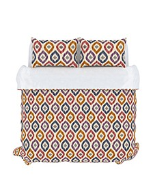 Aura Duvet Cover Set, Full/Queen, Prism