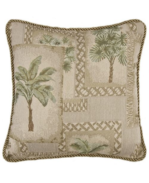 Karin Maki Palm Grove Square Pillow