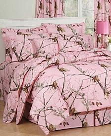 Realtree APC Pink Queen Comforter Set