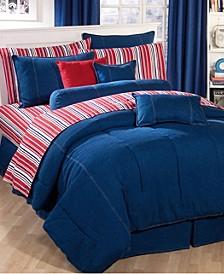American Denim Queen Comforter