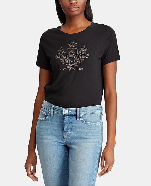 Lauren Ralph Lauren Logo Graphic T-Shirt