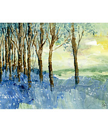 "April Muse Painted Forest 20"" x 24"" Metal Wall Art Print"