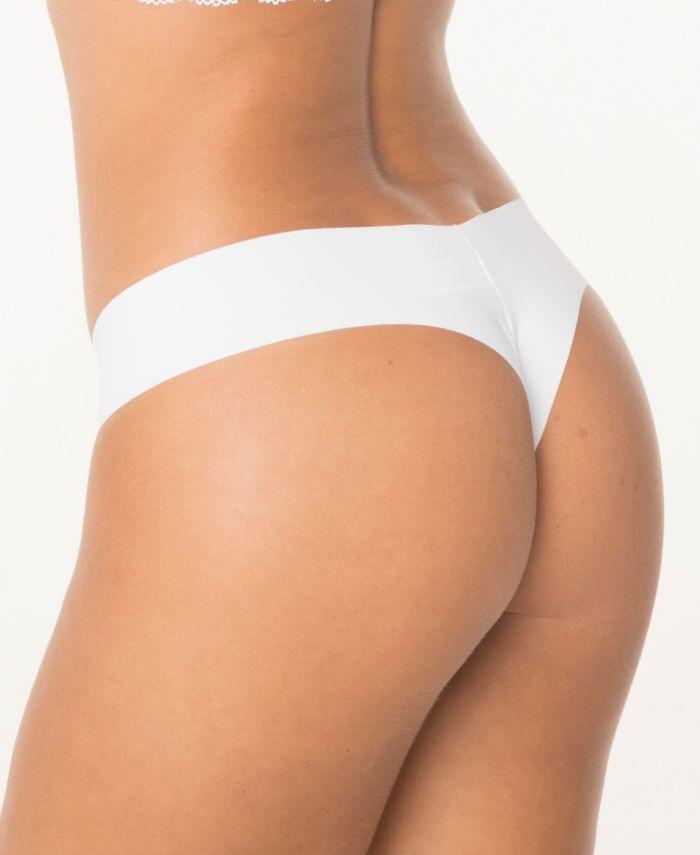 Leonisa No Ride-Up Seamless Thong Panty & Reviews - Bras, Panties & Lingerie - Women - Macy's