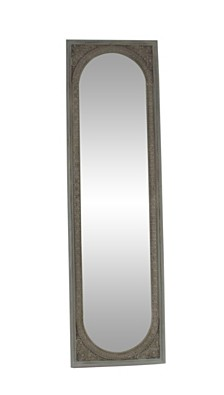 "Modern 71"" x 20"" Rectangular Wooden Floor Mirror"