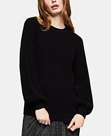 BCBGeneration Cotton Crewneck Sweater