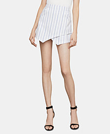 BCBGMAXAZRIA Asymmetrical Mini Skirt