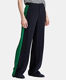 Lauren Ralph Lauren Petite Wide-Leg Twill Pants