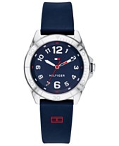 Tommy Hilfiger Men s Communion Navy Silicone Strap Watch 34mm 3e65bbb68