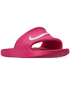 Nike Girls' Kawa Shower Slide Sandals from Finish Line