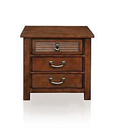 Mariah 3-drawer Nightstand, Quick Ship