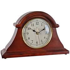 Firstime and Co. Brownstone Napoleon Tabletop Clock