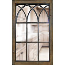 Firstime and Co. Grandview Arched Window Mirror