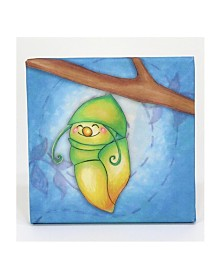 3 Stories Growing Kids Caterpillar To Butterfly Canvas Art