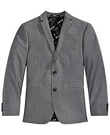 DKNY Big Boys Grey Suit Jacket