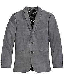 DKNY Big Boys Grey Suit Jacket