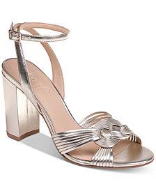 Jewel Badgley Mischka Krystal Evening Sandals