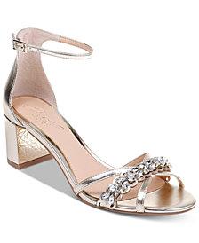 Jewel Badgley Mischka Giona II Evening Sandals