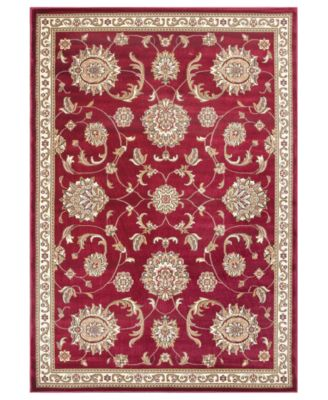 CLOSEOUT! Cambridge Allover Mahal 7355 Red 2'3