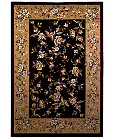 "KAS Cambridge Floral Delight 7'7"" Octagon Area Rug"