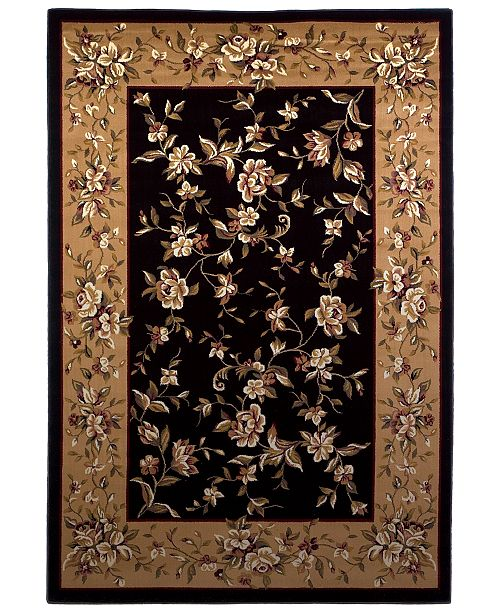 "Kas CLOSEOUT! Cambridge Floral Delight 1'8"" x 2'7"" Area Rug"