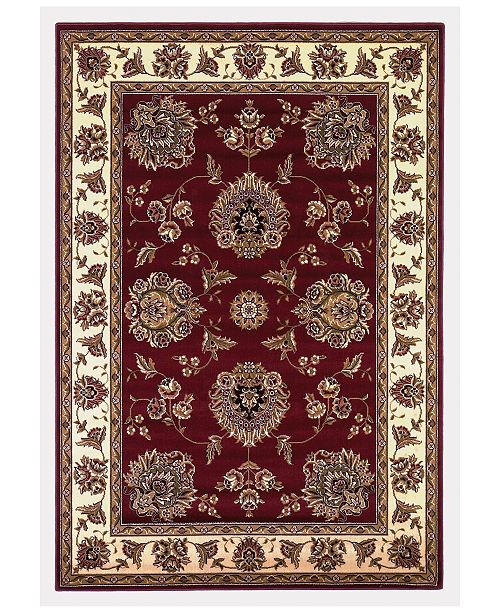"Kas CLOSEOUT! Cambridge Floral Mahal 7'7"" x 10'10"" Area Rug"