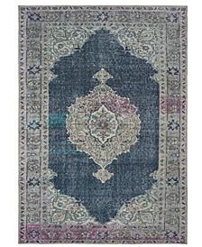 """Sofia 85817 Blue/Gray 1'9"""" x 2'8"""" Area Rug"""