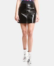 ARTISTIX Faux-Leather Skirt
