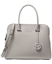 29ba3f82b1f520 MICHAEL Michael Kors Houston Double Zip Crossgrain Leather Satchel