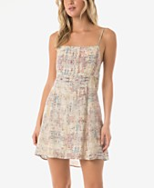 O Neill Juniors  Monica Printed Tank Dress 1ceb708db