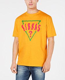 GUESS Men's Oversized Vibras Logo Graphic T-Shirt