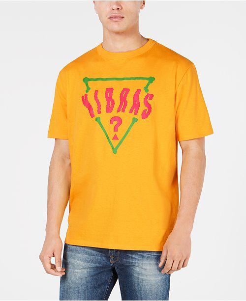 7df323a3 GUESS J Balvin X Men's Oversized Logo Graphic T-Shirt & Reviews - T ...