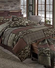 Camo Cobblestone Cotton Quilt Collection