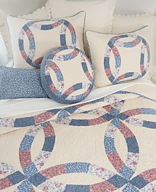 Michelle Wedding Ring Cotton Quilt Collection, King