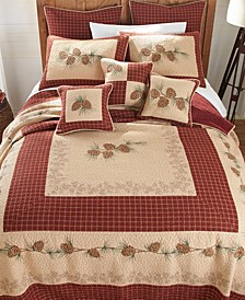 Pine Lodge Cotton Quilt Collection, King